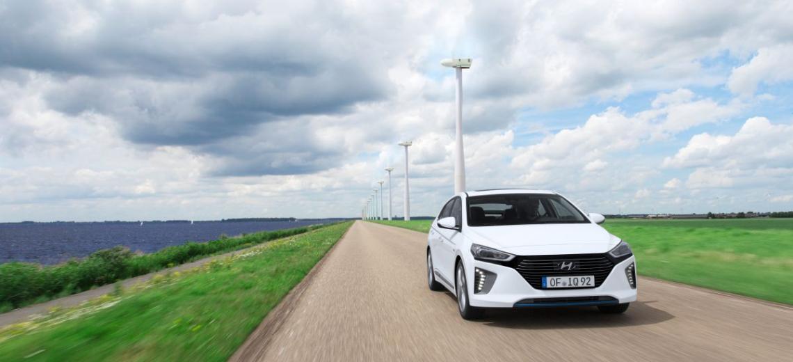 Newtimer von morgen: Mit dem neuen Hyundai IONIQ auf Test-Tour