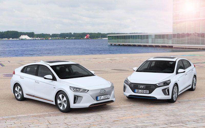 Die Hyundai IONIQ-Familie